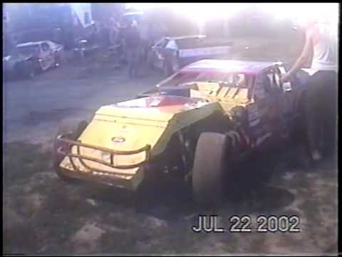 Quincy Raceways  ( WARNING RACING #9  ) July 2002