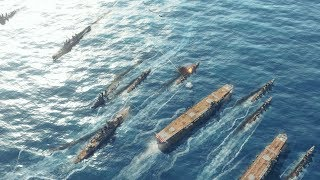 1941 Japan Invades US Wake Island & Pacific Naval Landings | Sudden Strike 4 Pacific War DLC