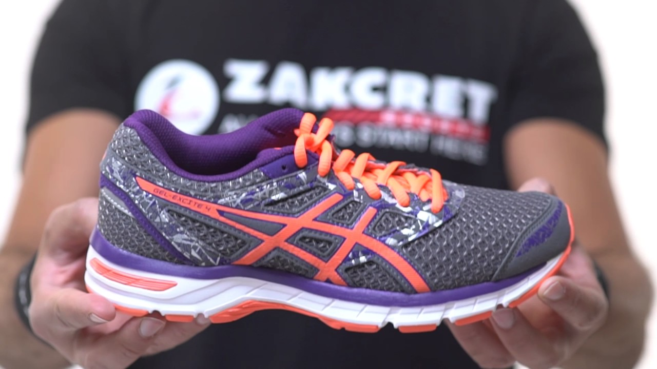 ZAKCRET Sports: Unboxing ASICS GEL EXCITE 4 T6E8N 9606 Ανθρακί