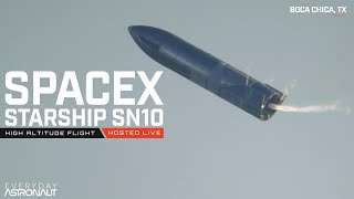 Watch SpaceX launch Starship SN10, at the edge of the exclusion zone!