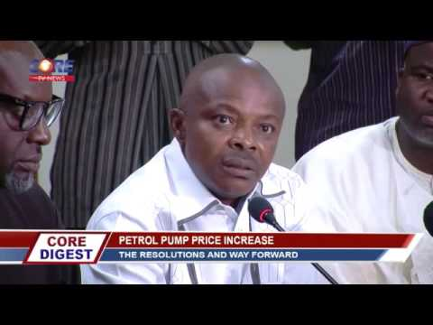 Core Digest: PETROL PUMP PRICE INCREASE with GBOLA OBA Part 1, 18th May, 2016.