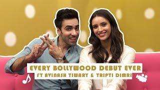 Every Bollywood Debut Ever Ft. Avinash Tiwary And Tripti Dimri | Laila Majnu | MissMalini