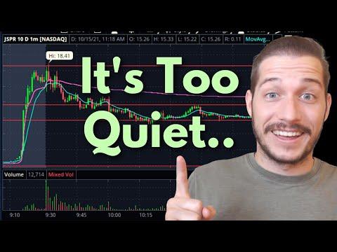 Friday Trading Tip (JSPR Stock)
