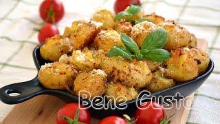 Хрустящая молодая картошка Молодой картофель в духовке целиком