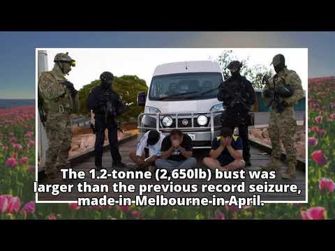 Australian police make record meth haul