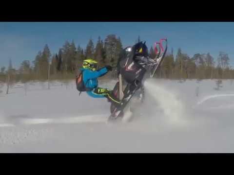 Lynx XTRIM RE 2018. Лыжи в гору! Скандинавский стайл!