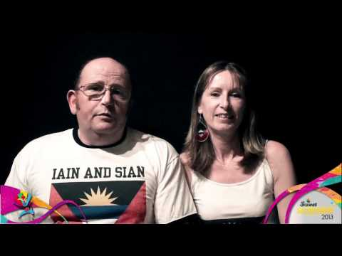 Iain and Sian Video Blogs 2013