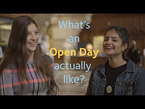 What's it like at an Oxford Uni Open Day?