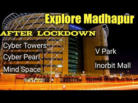 Madhapur Tour | Cyber Towers, Shilpakala Vedika, Cyber pearl, Cyber gateway, Mind Space,Inorbit Mall