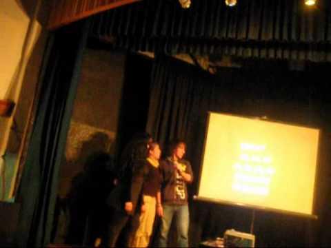 Raphsodia Bohemia en el karaoke de la EIA #3 del INBA