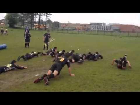 BlackBear Rugby 2013 -Victory slip n slide!