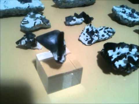 New Benitoite Mine Specimens July 2011