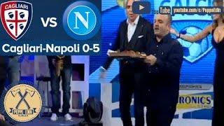 Peppe Iodice Cagliari Napoli 0-5: 5 BABA' streaming