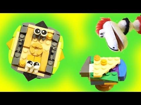 видео: Лего Геркулес! Ожидание/Реальность! Как собрать Лего Бейблэйд? Видео для детей. Дракоша Гоша.