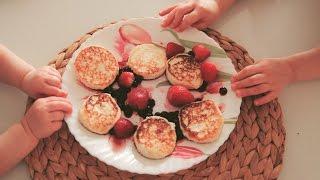 ИДЕАЛЬНЫЕ СЫРНИКИ ЗА 3 минуты НЕ ПП | вкусные домашние сырники