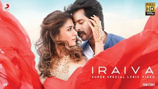 A journey called Life, A journey called Love- the unison of these two is #Iraiva! #Iraiva from #Velaikkaran captures two contrasting emotions in a single tune.