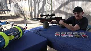 KRAL ARMS PUNCHER BREAKER 22 CHRONY TEST AND TIPS