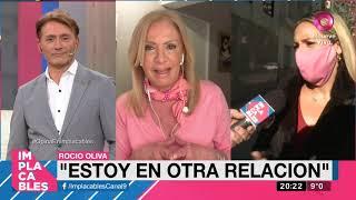 Rocio Oliva se defendió