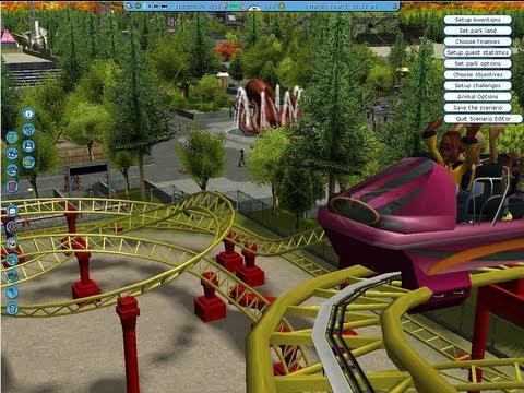 Rct3 Lagoon Amusement Park Utah Virtual Walkthrough Roller Coaster