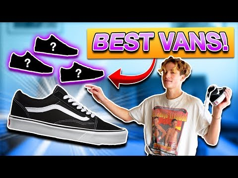 The BEST VANS Old Skool COLORS + How To Style