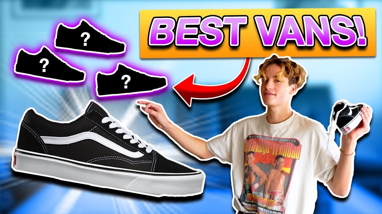 3b1d3972a16 The BEST VANS Old Skool COLORS + How to Style - YouTube