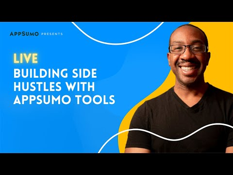 🛑  [Live] Building Side Hustles With AppSumo Tools 🛑