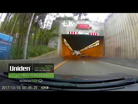 Uniden   IGO CAM 50R Dash Cam Sample Footage Day