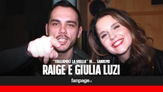 Raige e Giulia Luzi cantano