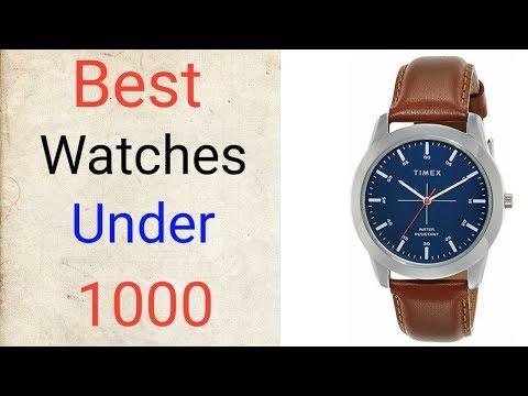 Best Watches Under 1000 On Amazon ||Best Formal Watches For Men 2019