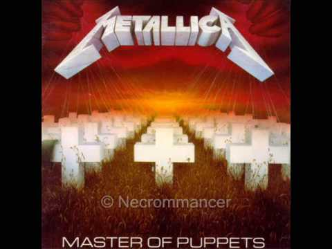 master of puppets  Metallica instrumental