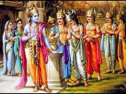 पांडवों की पत्नियों अाैर पुत्रों के बारे में नाम सहित जाने