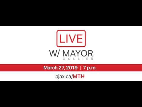 LIVE: Townhall with Mayor Collier - March 27, 2019