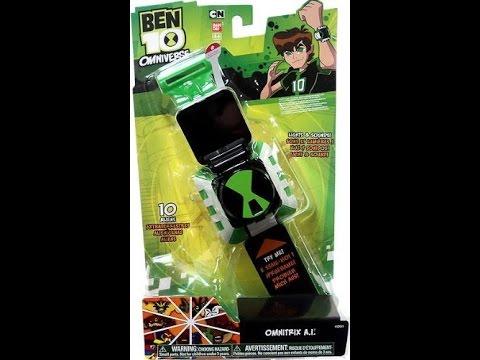 b05df42a126 Relógio Ben 10 Omnitrix A I Presente de Natal Antecipado - YouTube