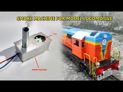 Model Smoking Alco | How To Make Smoke Machine for Model Train | Indian Railways