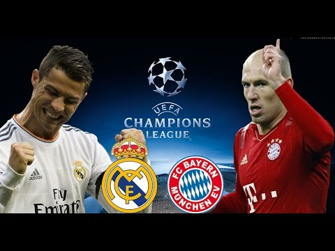 REAL MADRID vs BAYERN MUNICH UEFA CHAMPIONS LEAGUE 18/04/2017