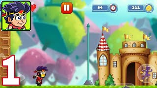 Super Kromn Jungle Adventures - Level 1 to Level 3 - Android Gameplay #1