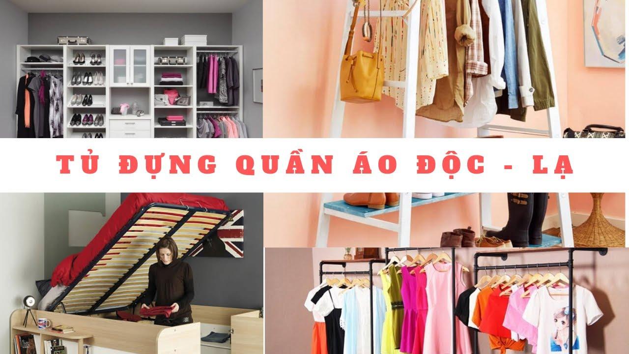 Đừng bao giờ tốn tiền mua tủ quần áo hãy xem video này | Tips nội thất