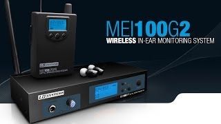 LD Systems MEI100G2 - Wireless In-Ear Monitoring System