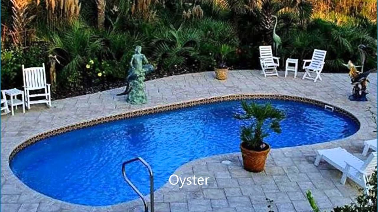 A Sample of Barrier Reef Pool USA Styles, Includes Colors & Sizes ...