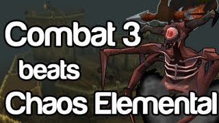 Runescape - Will Miss It kills Chaos Elemental as cb3 | Deathtouched Dart