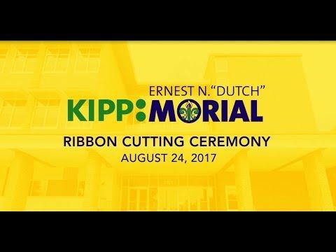 """KIPP Ernest N. """"Dutch"""" Morial Ribbon Cutting, August 24, 2017"""
