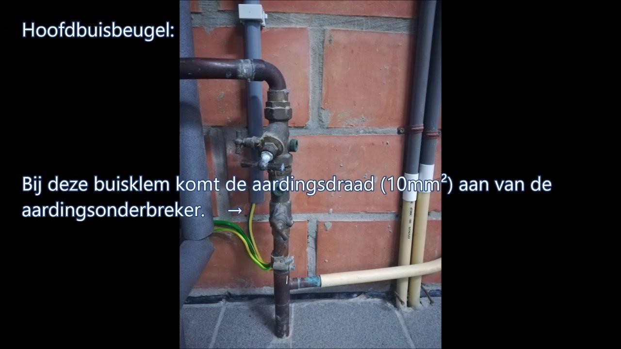 Aarding Badkamer Belgie : Aarding waterleiding watermeter youtube
