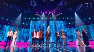 The X Factor UK 2016 Live Shows Week 9 The Results Part 1 Full Clip S13E30