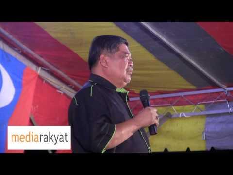Mat Sabu: Najib, Jangan Main Dengan Mahathir