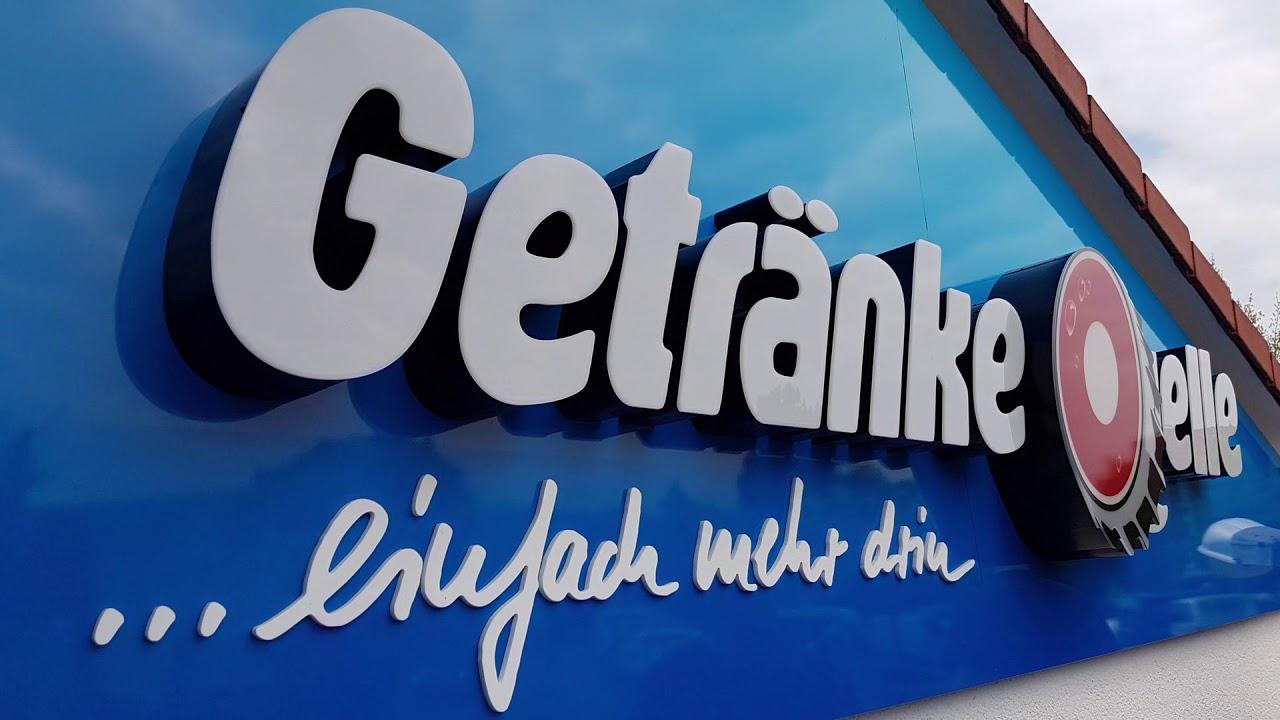 GetränkeQuelle, Ohrdruf -Světelná reklama, Lichtwerbung, Signmaking ...