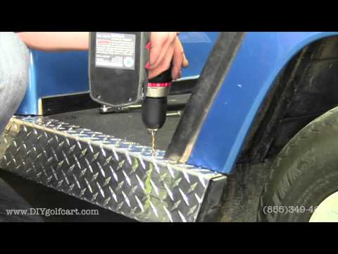 Yamaha G14 G16 G19 G22 Diamond Plate Rocker Panels