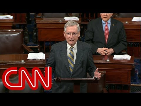 McConnell blames Schumer for looming government shutdown