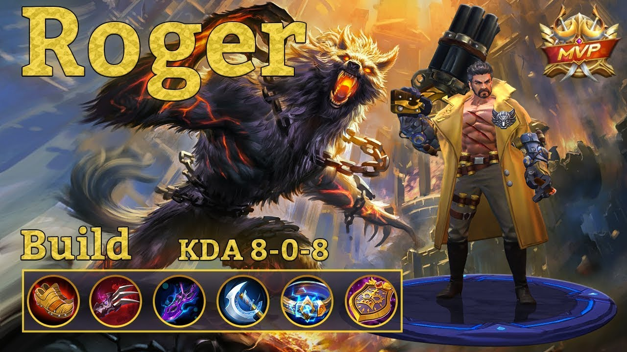 mobile legends: roger, the lycan carry!
