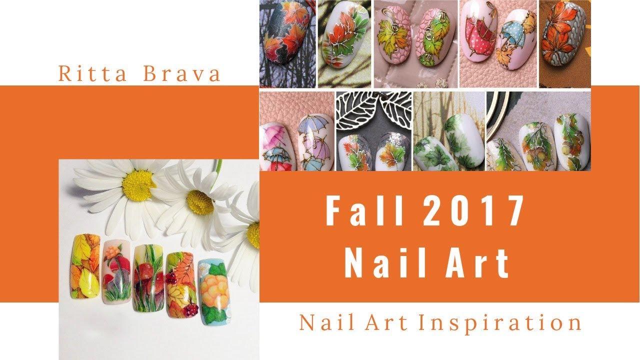 fall 2017 nail art - design
