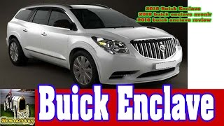 2018 Buick Enclave - 2018 buick enclave avenir - 2018 buick enclave review - New cars buy.